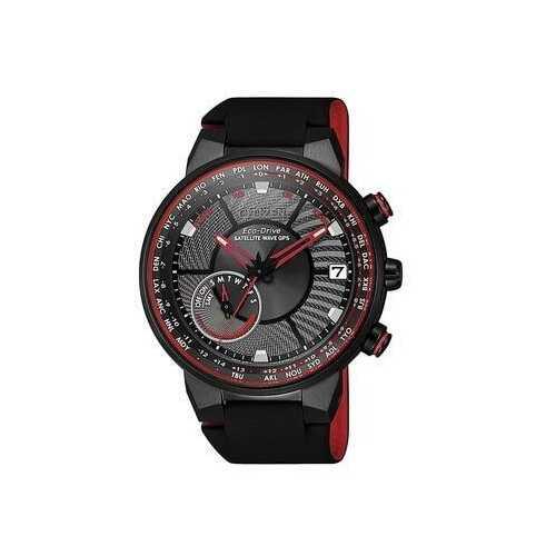 Citizen CC3079-11E Satellite Wave GPS Black Rubber Men's Eco-Drive Watch