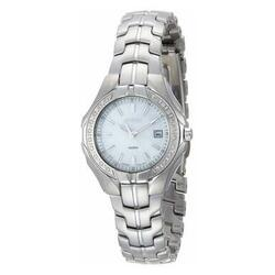 Category: Dropship Watches, SKU #6653758013625, Title: Seiko SXDB69 Stainless Steel Diamond Accent Mother of Pearl Dial Women's Watch