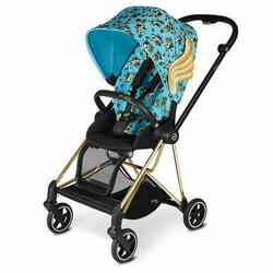 Category: Dropship Baby, SKU #6653831676089, Title: CYBEX Mios Stroller by Jeremy Scott 3-in-1 Travel System - Cherub Blue