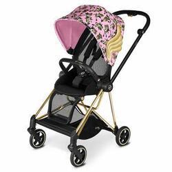 Category: Dropship Baby, SKU #6653831774393, Title: CYBEX Mios Stroller by Jeremy Scott 3-in-1 Travel System - Cherub Pink