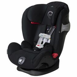 Cybex Eternis S All-in-One Convertible Car Seat with SensorSafe Technology - Lavastone Black