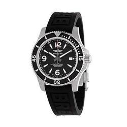 Breitling A17367D71B1S2 Superocean 44 Black Dial Men's Rubber Automatic Watch