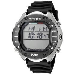 Seiko STN009 MarineMaster NX Professional Digital Diving Titanium Alloy Stainless Steel & Black Rubber Computer Watch