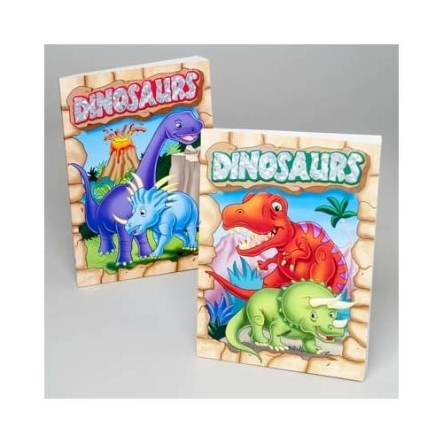 Case of [24] Coloring and Activity Book - Dinosaur