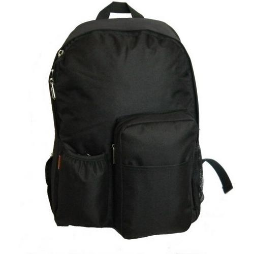 """Case of [30] 17"""" Classic Backpack - Multi-Compartment - Black"""