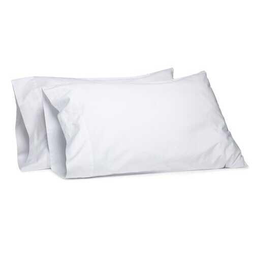"Case of [72] Standard Size White Pillowcase 42"" x 36"""
