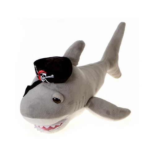 "Case of [24] 14"" Pirate Shark Plush Toy"