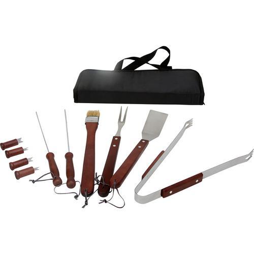 Case of [12] KitchenWorthy 11-Piece BBQ Tool Set