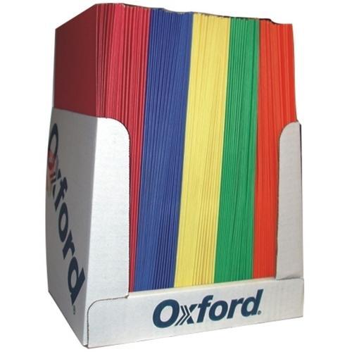 """Case of [100] 2 Pocket Folder - Assorted Colors - 8.5"""" x 11"""""""