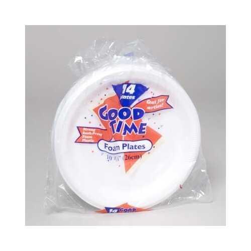 """Case of [20] Foam Party Plate - 10"""""""