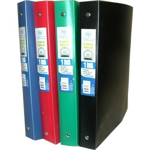 "Case of [48] Flexible Poly Binder - 1"" - Solid Colors"
