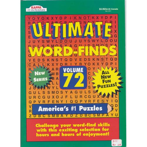 Case of [48] Ultimate Word-Finds Puzzle book - Full Size
