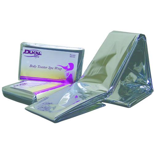 """Case of [250] Dukal Body Toaster? Spa Wrap - 52"""" x 84"""""""