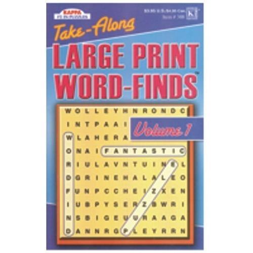 Case of [72] Large Print Word Find - Pocket Size