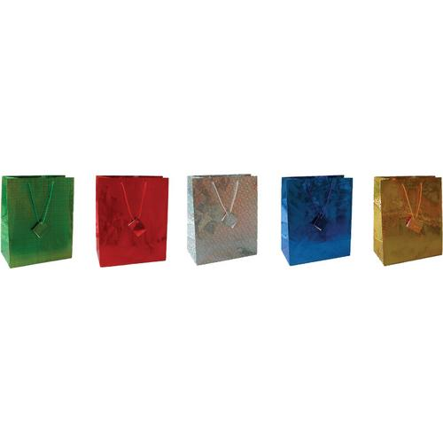 Case of [108] Gift Bags - Hologram designs - Large