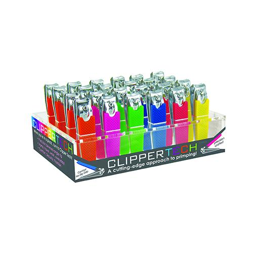 Case of [48] Clipper Tech Nail Clippers - Display included