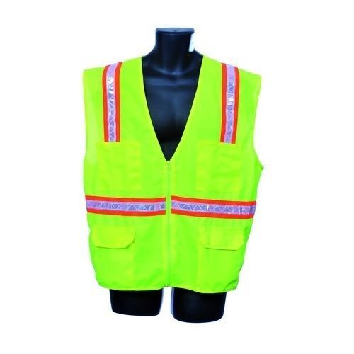 Case of [10] Green Surveyor Vest- Mesh Back 2XL