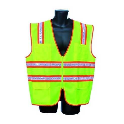 Case of [30] Green Surveyor Vest 3XL