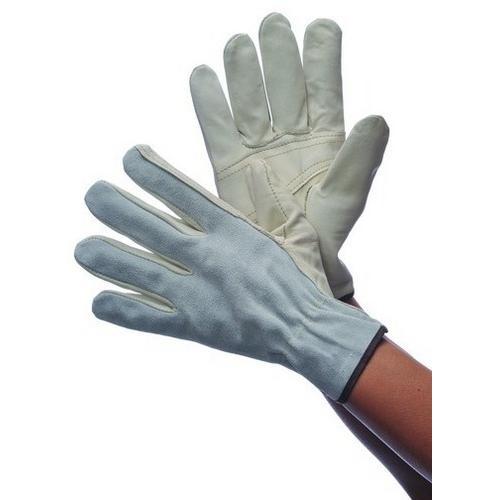 Case of [120] Leather Driver Gloves Cowhide Split Back Large