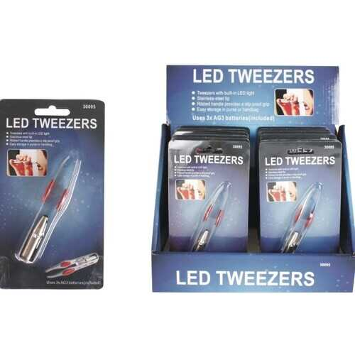 Case of [96] LED Light Tweezers