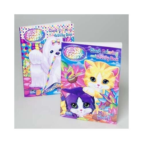 Case of [24] Bulk Lisa Frank Coloring and Activity Book