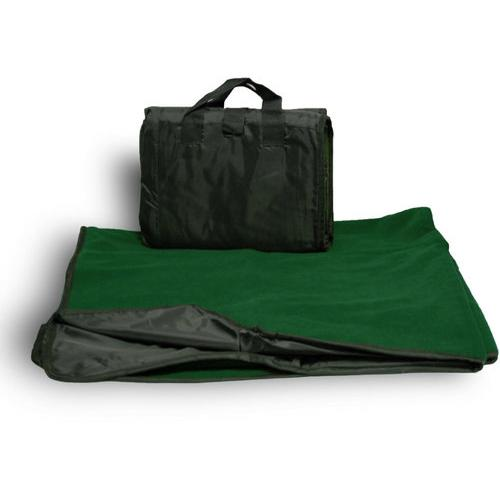 """Case of [24] Waterproof Outdoor Picnic Blankets 50"""" x 60"""" - Forest"""