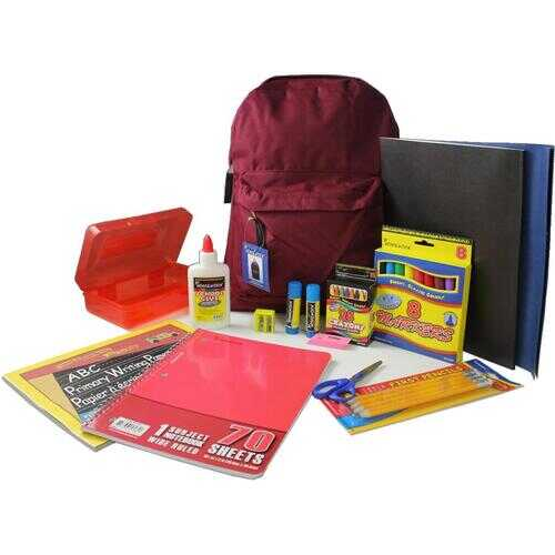 """Case of [12] 15"""" Primary Kit Pre Filled Backpack"""