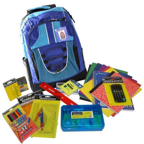 """Case of [1] 17"""" Pre-Filled Backpack Kit"""