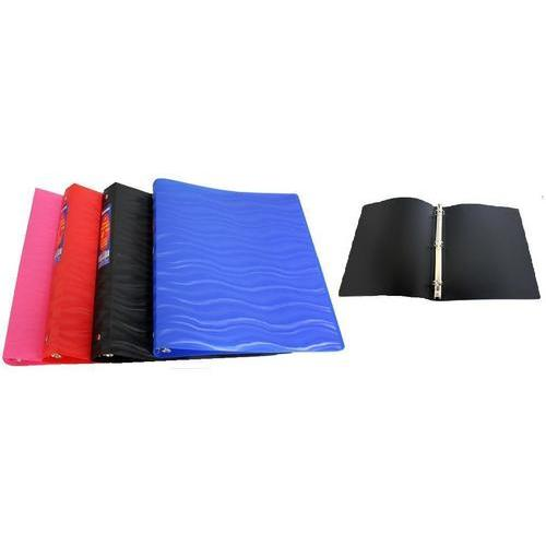 "Case of [48] 1"" Poly Flexi Binder - Wave Design"