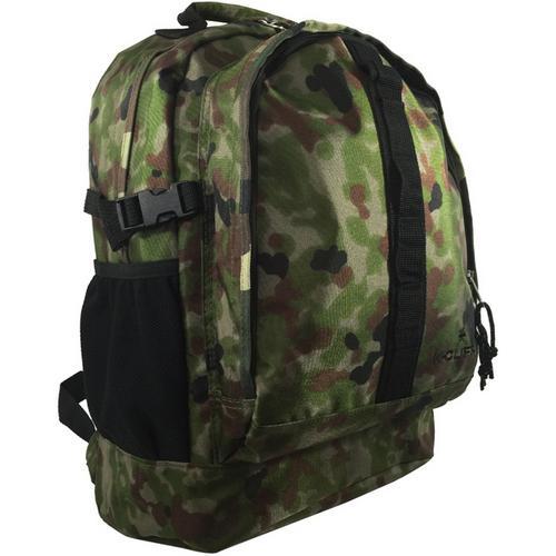 "Case of [24] 17.5"" Premium Multi-Pocket Backpack - Camo"