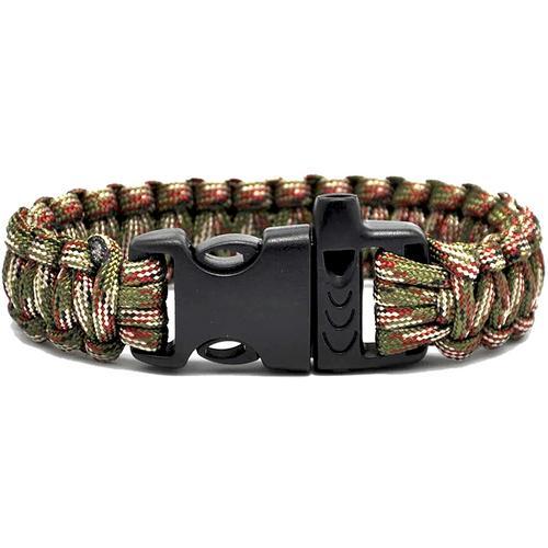 Case of [250] TrailWorthy Camouflage Paracord Bracelet