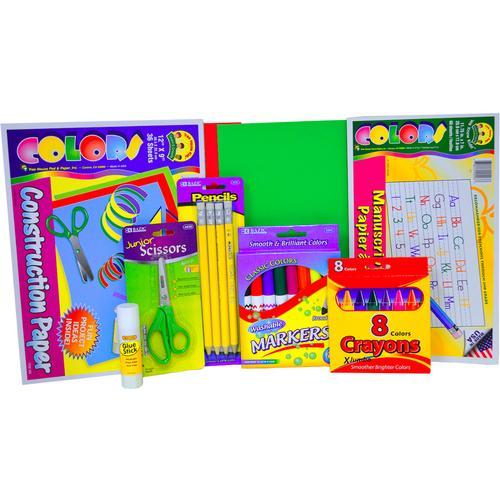 Case of [14] Pre-K / Kindergarten School Supply Kit