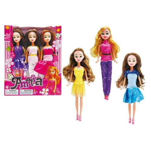 Case of [36] Fancy Amelia Doll Trio