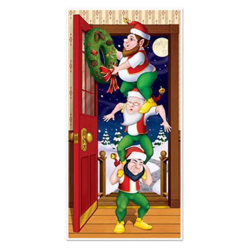 Case of [12] Christmas Elves Door Cover