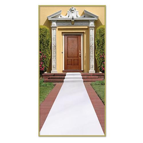 Case of [6] White Carpet Runner