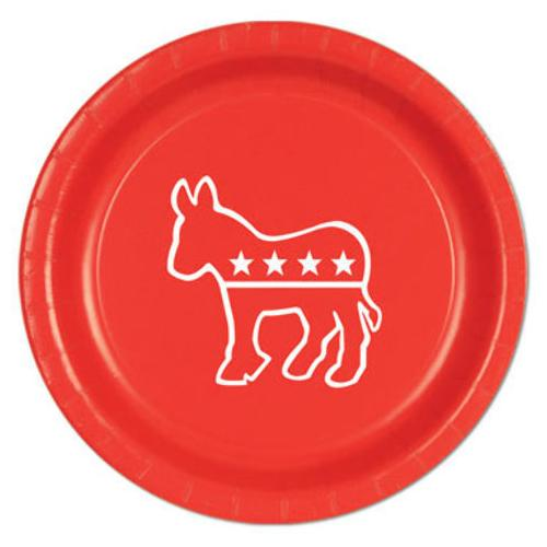 Case of [12] Democratic Plates - Red