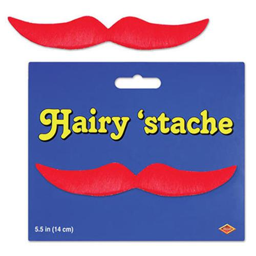 Case of [24] Hairy 'Stache - Red
