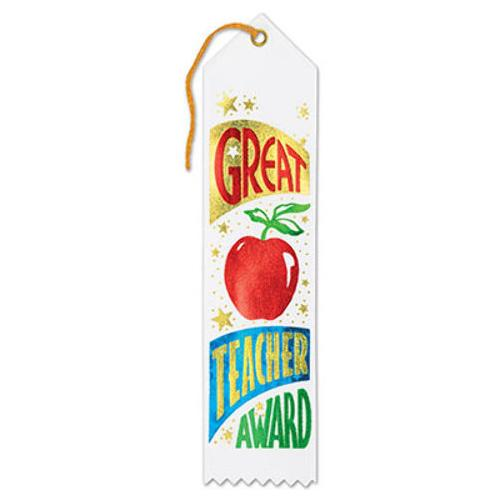 Case of [36] Great Teacher Award Ribbon
