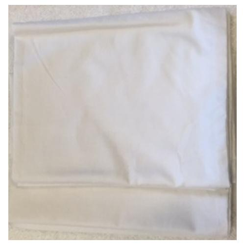 """Case of [120] Classic Home Pillow Case 42 x 34"""" White"""