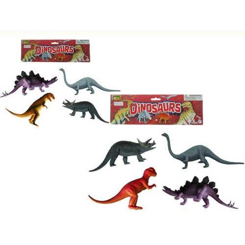 Case of [24] Animal Dinosaur Play Set Large (4 Pcs Set)