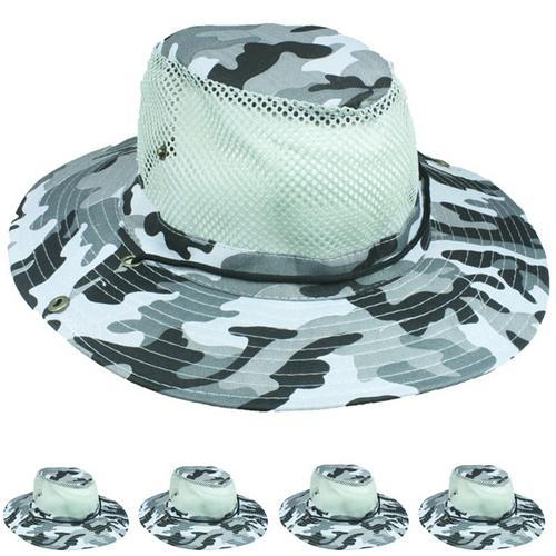 Case of [72] Camouflage Mesh Hat