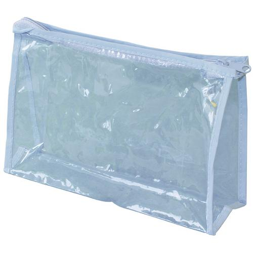 Case of [500] Freshscent Clear Vinyl Zippered Pouch