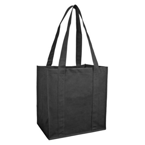 Case of [100] Reusable Shopping Bag-Black
