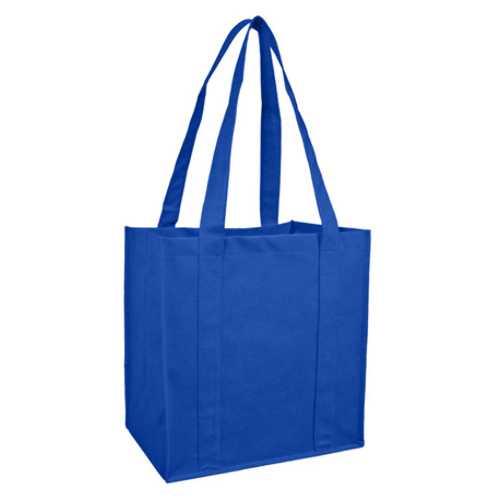 Case of [100] Reusable Shopping Bag- Royal