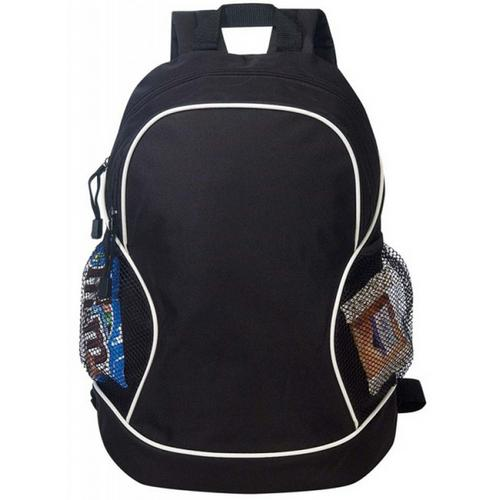 """Case of [24] 11"""" Classic Poly Backpack - Black"""
