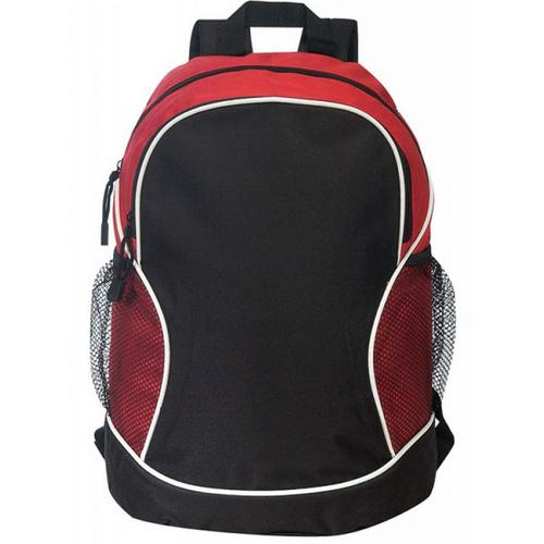 """Case of [24] 11"""" Classic Poly Backpack - Red/Black"""
