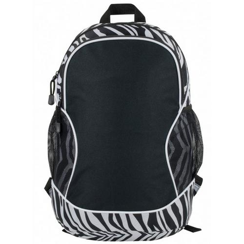 """Case of [24] 11"""" Classic Poly Zebra Backpack"""