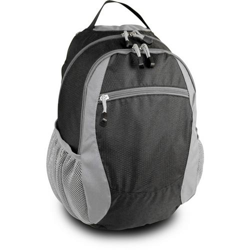 """13"""" Campus Backpack - Black/Gray"""