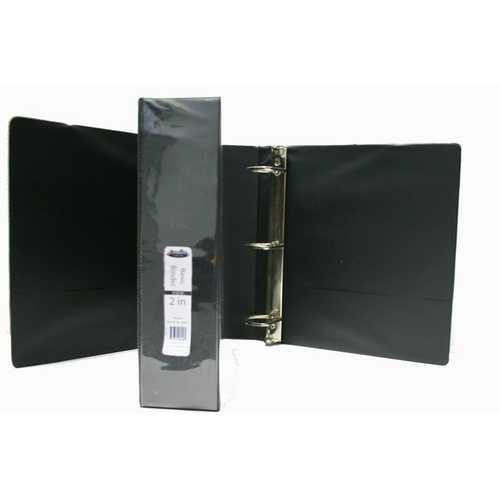 "Case of [12] 2"" D Ring View Binder"
