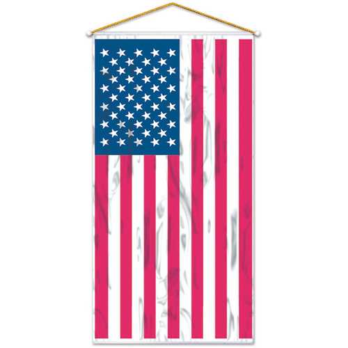 Case of [12] American Flag Door/Wall Panel